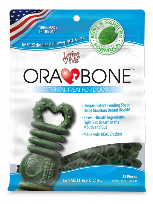 Loving Pets OraBone Dental Dog Treats