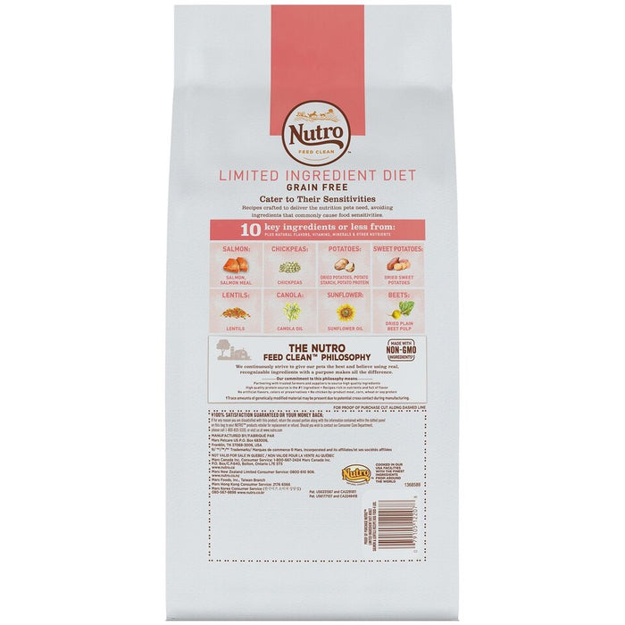 Nutro Limited Ingredient Diet Adult Salmon & Lentils Recipe Dog Food