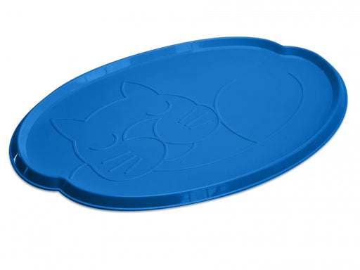 Van Ness Cat Dinner Mat with Rimmed Sides