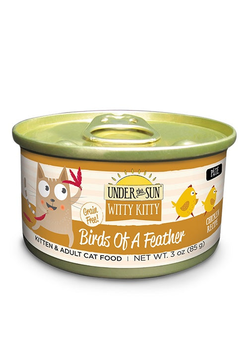 Canidae Under the Sun Witty Kitty: Birds Of A Feather Grain Free Chicken Pate Canned Cat Food