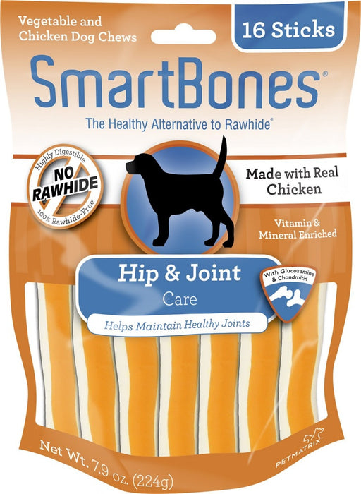 SmartBones Hip & Joint Care Chicken Chews Dog Treats