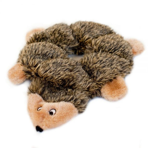 ZippyPaws Loopy Hedgehog Squeaky Plush Dog Toy