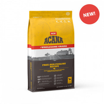 ACANA + Wholesome Grains Free-Run Poultry Recipe Dry Dog Food