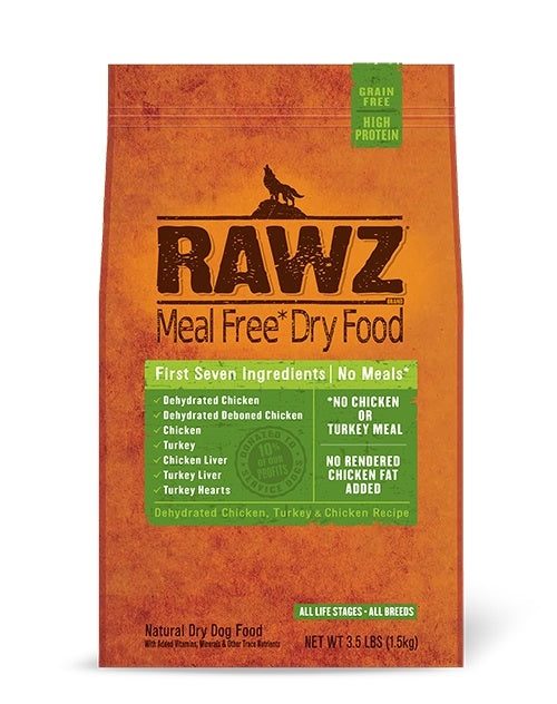 RAWZ Canine Chicken & Turkey Formula Kibble