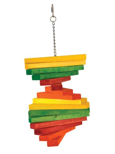 Paradise Toys Extra Large Vari Fan, 8 x 18 in. Bird Toy
