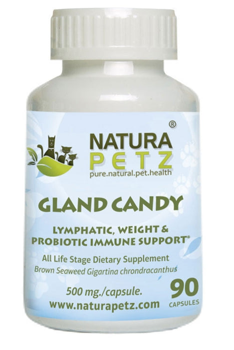Gland Candy - Omega 3 Lymphatic, Weight & Probiotic Immune Support *