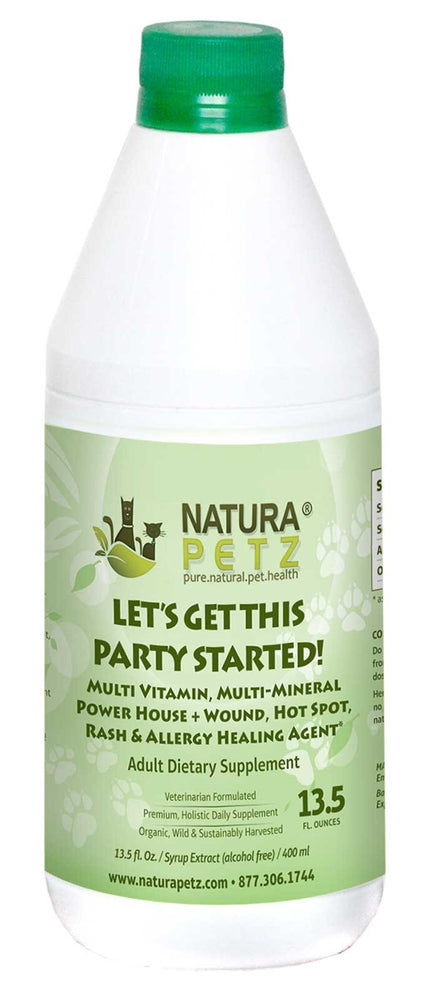 Let's Get This Party Started! Vitamin & Mineral Power House + First Aid Topical Wound, Hot Spot, Rash & Allergy Support*