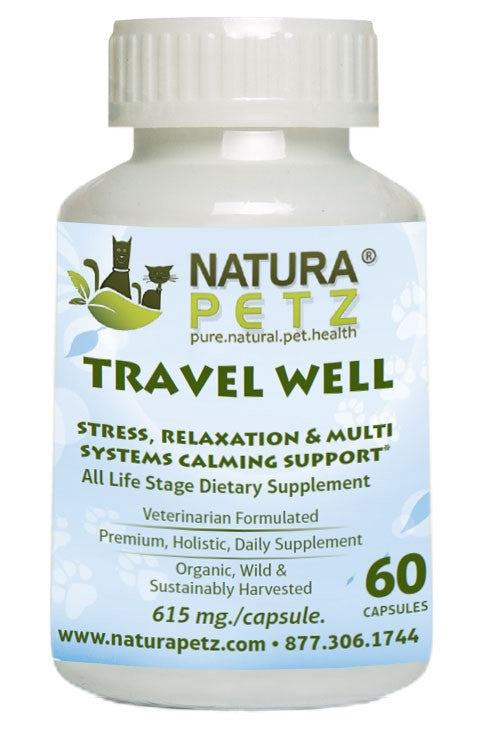 Travel Well - Stress, Relaxation and Calming Support for Pets on the Go