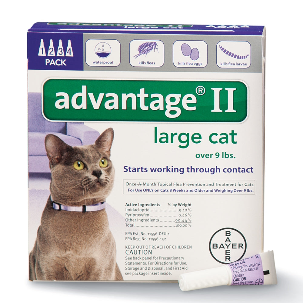 Advantage II Feline 4-Pack