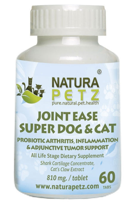 Joint Ease Super Dog and Cat - Maximum Strength Probiotic Hip & Joint Support*