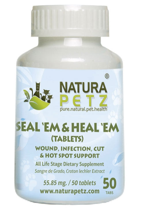 Seal 'Em and Heal 'Em Powder  - Wound, Infection, Cut & Hot Spot Support