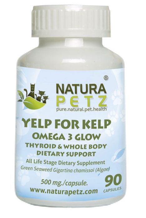 Yelp For Kelp - Omega 3 Thyroid and Whole Body Multi-Mineral, Multi-Vitamin and Dental Support