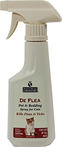 Natural Chemistry De Flea - Pet & Bedding Spray for Cats