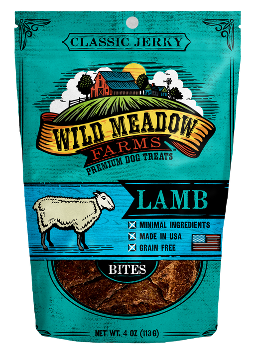 Wild Meadow Farms Lamb Bites Dog Treats