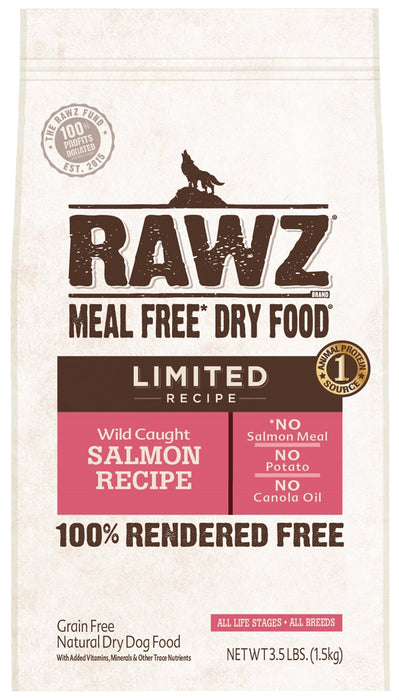 RAWZ Canine Limited Diet Wild Salmon Dry Dog Food