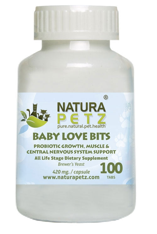 Baby Love Bits - Growth, Muscle & Central Nervous System Support + Flea & Tick Support*