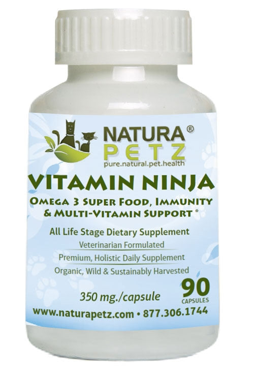 Vitamin Ninja - Omega 3 Premium, Super Food, Immunity and Multi-Vitamin Support