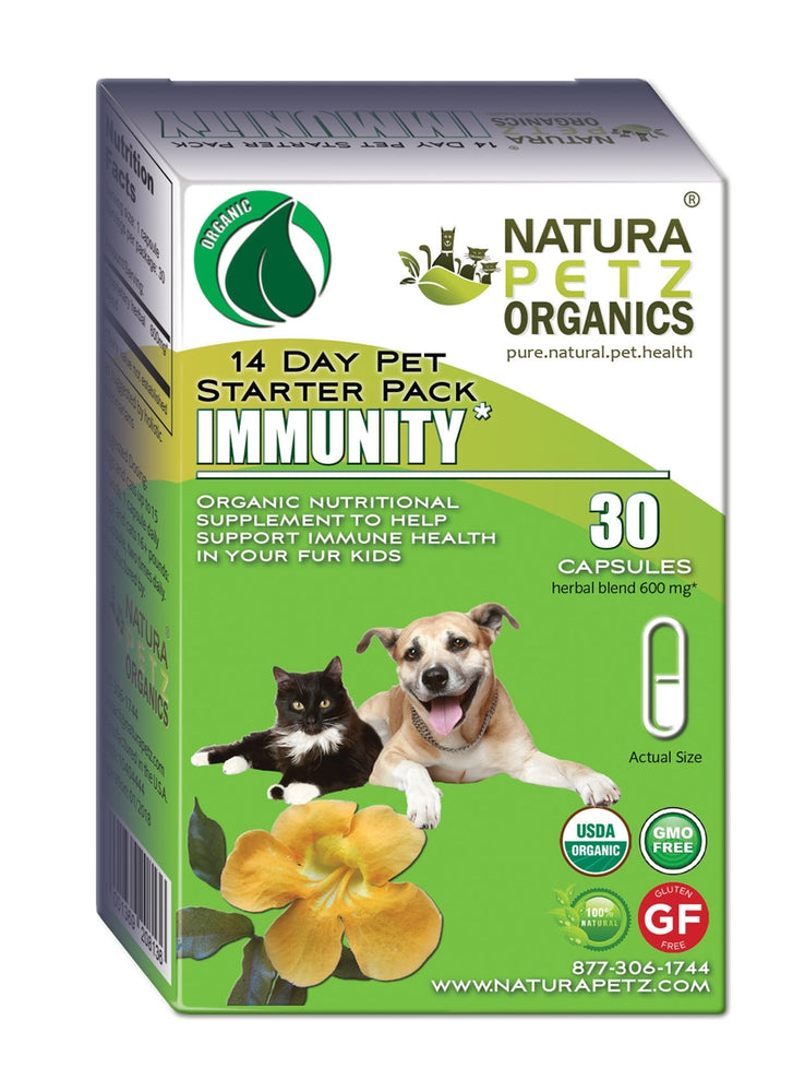 Immunity Starter Pack for Dogs and Cats - Immune Health Pack for Dogs and Cats