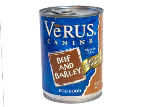 Verus Beef And Barley Formula Wet Dog Food