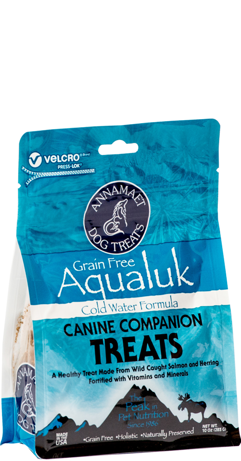 Annamaet Aqualuk Grain Free Dog Treats 10oz