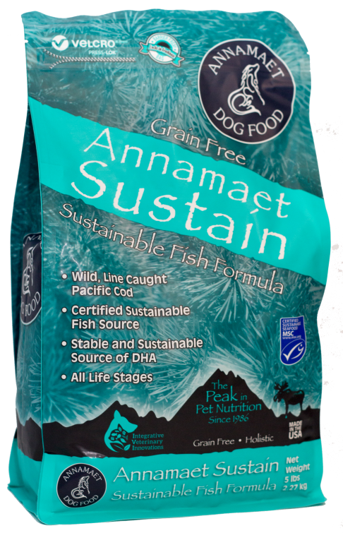 Annamaet Sustain Grain Free Fish Formula Dog Food