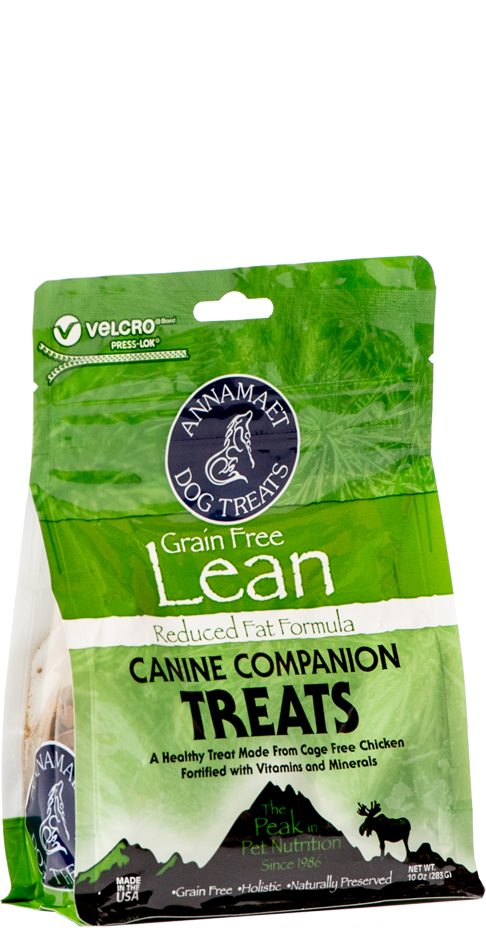 Annamaet Lean Canine Companion Dog Treats 10-oz