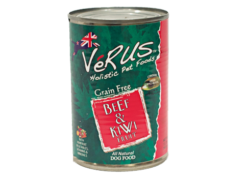 Verus New Zealand Beef And Kiwi Formula Wet Dog Food