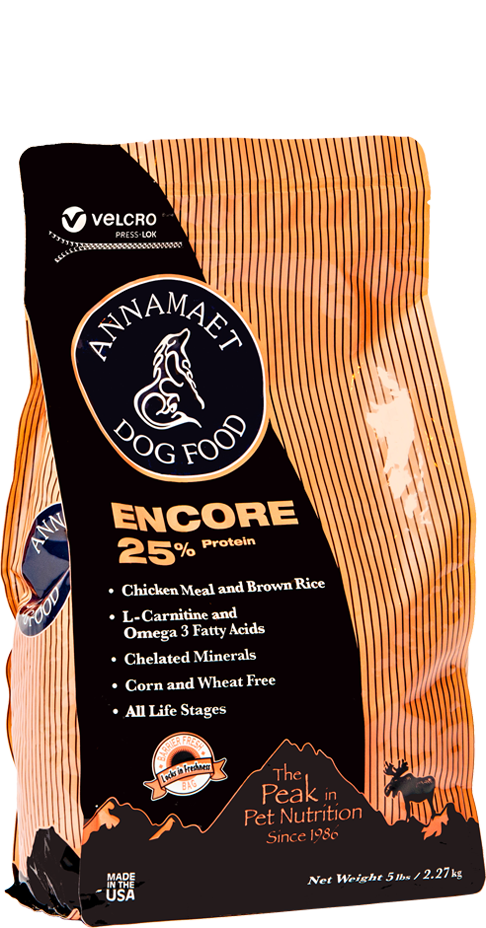 Annamaet Encore Formula 25% Protein Dry Dog Food
