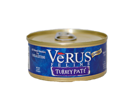 Verus Grain Free Turkey Pate Formula Wet Cat Food