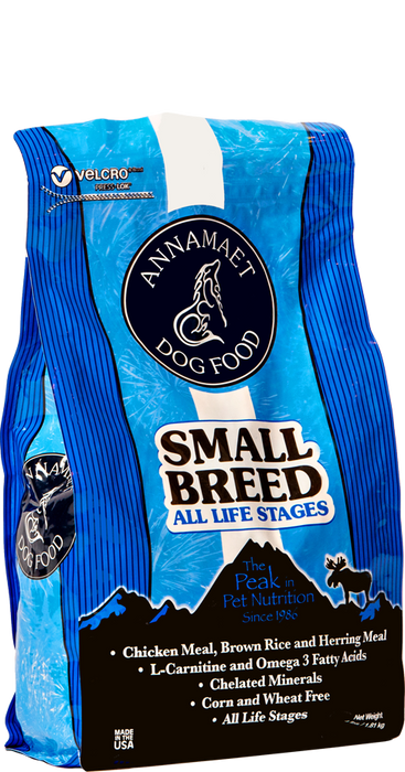 Annamaet Small Breed Formula All Life Stages Dry Dog Food
