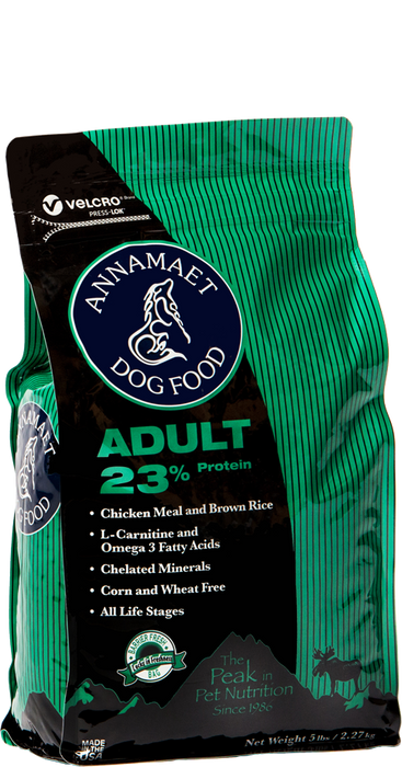 Annamaet Adult Formula 23% Protein Dry Dog Food