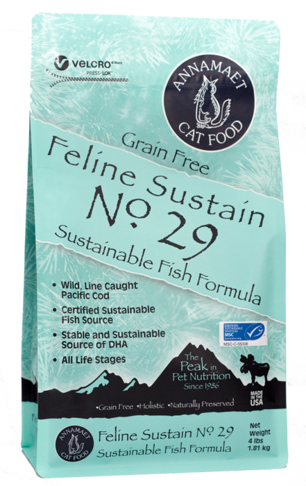Annamaet Grain Free Sustain Fish Formula #29 Cat Food