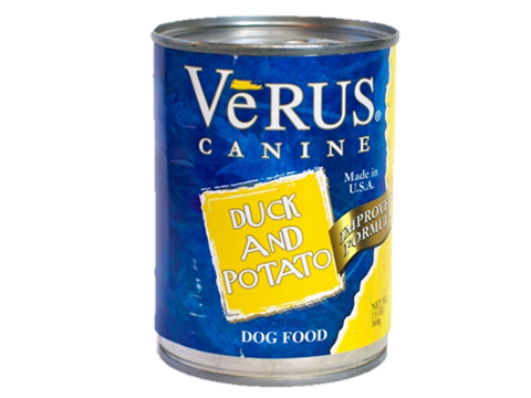 Verus Duck And Potato Formula Can Dog Food