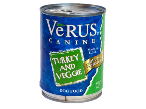 Verus Turkey And Veggie Formula Wet Dog Food