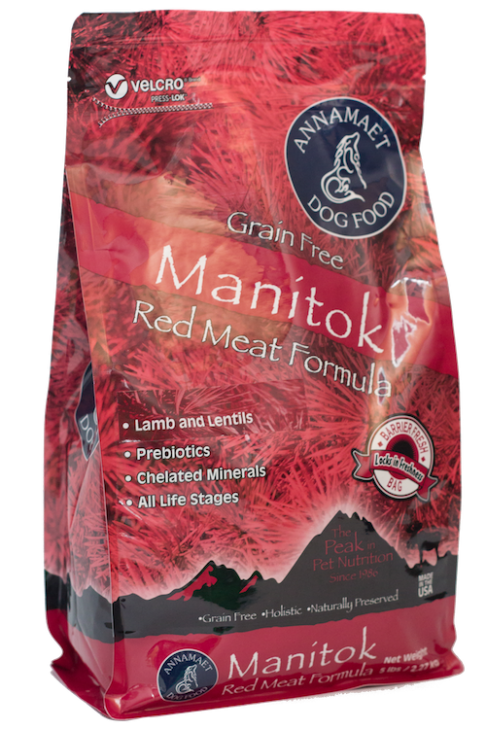Annamaet Manitok Red Meat Formula Dry Dog Food