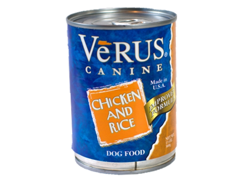 Verus Chicken And Brown Rice Formula Wet Dog Food