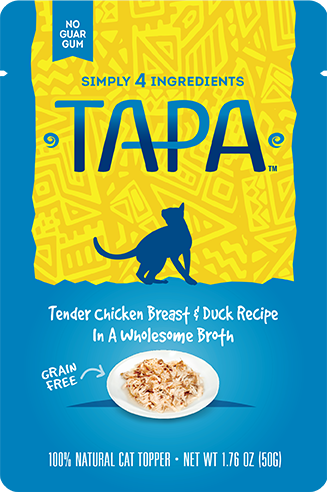 TAPA Tender Chicken Breast & Duck Recipe - Pack of 8