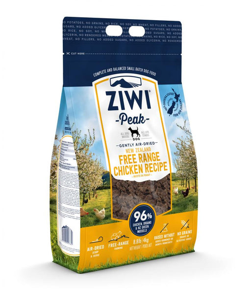 Ziwi Peak Air Dried New Zealand Free Range Chicken Recipe Food for Dogs