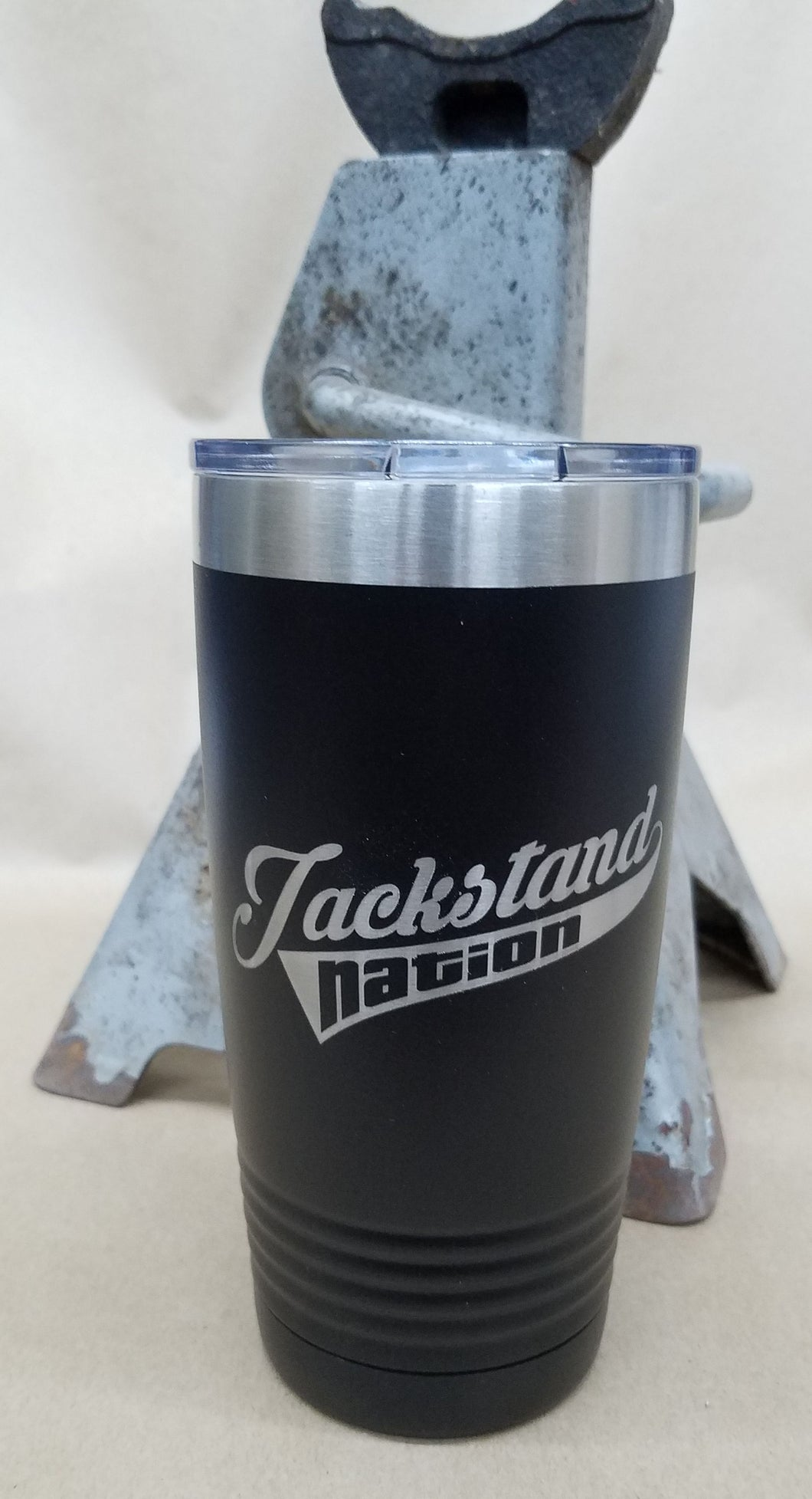 Jackstand Nation 20 oz. Stainless Steel Vacuum Insulated Tumbler