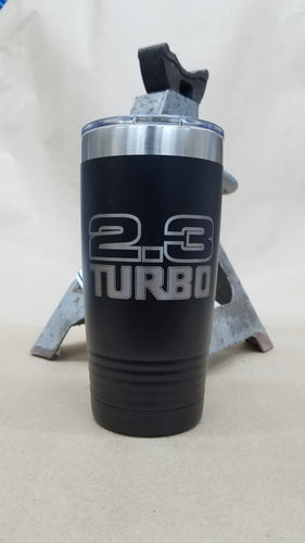 2.3 Turbo 20 oz. Stainless Steel Vacuum Insulated Tumbler