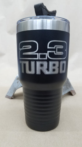 2.3 Turbo 30 oz. Stainless Steel Vacuum Insulated Tumbler