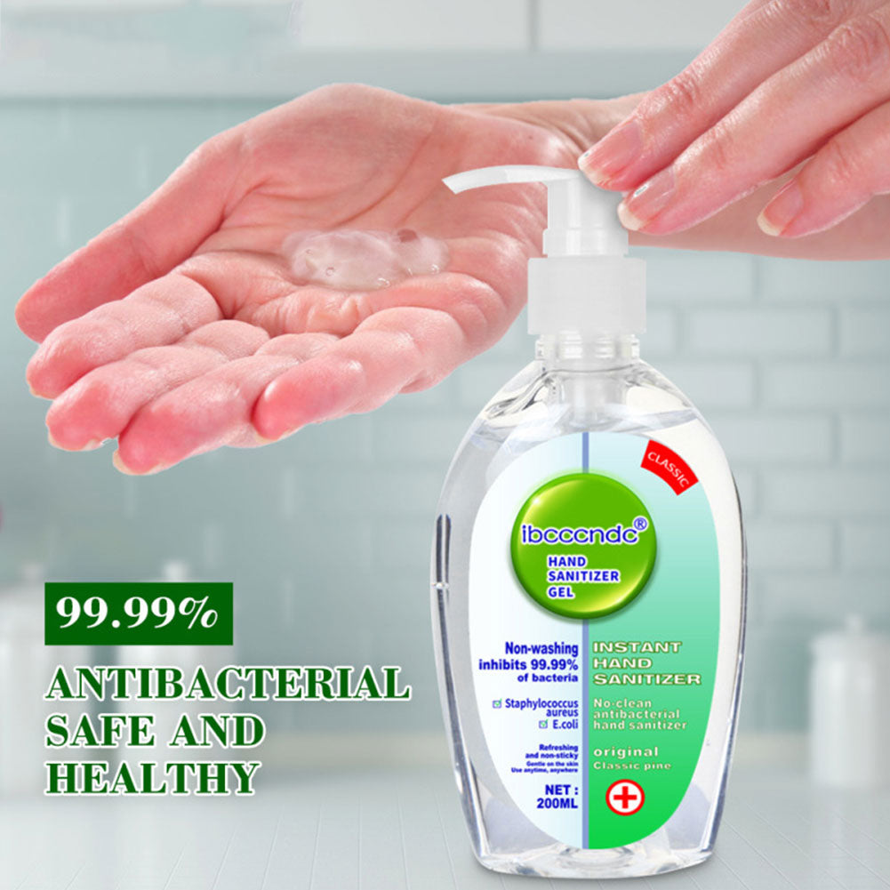 200 ml Hand Sanitizer ** Purchase 2 Quantities and Receive 15% Off! Use Code 200ml at Checkout**