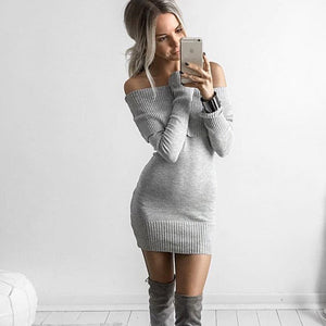 Mini Sweater Dress