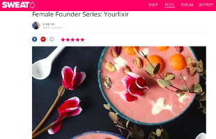 "SWEAT ""Female Founders Series: Yourlixir"""