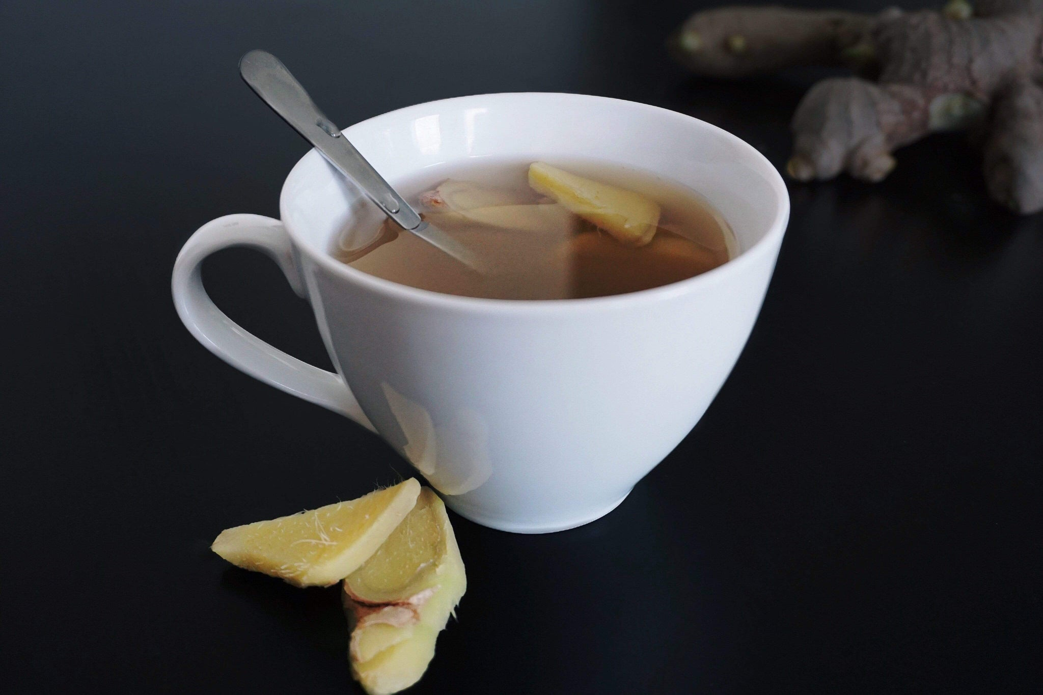 Maca Ginger Tea Recipe