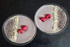 A Berry Superfoodie Smoothie
