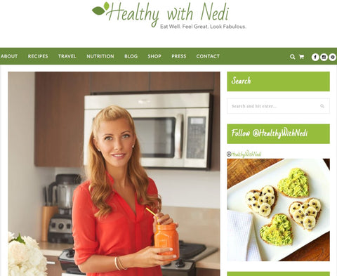 Healthy with Nedi Favorites Blog ft. Yourlixir Luxury Superfoods