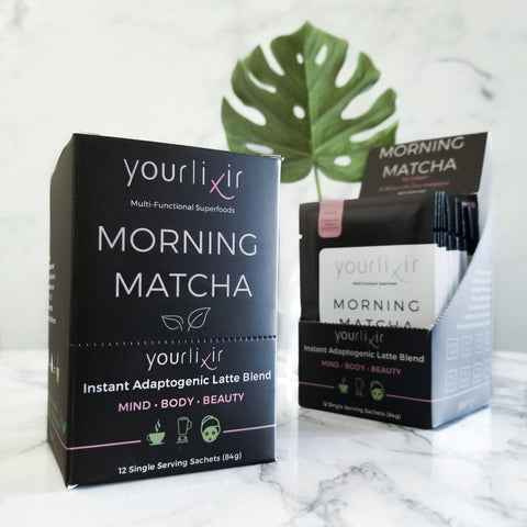 yourlixir morning matcha sachets