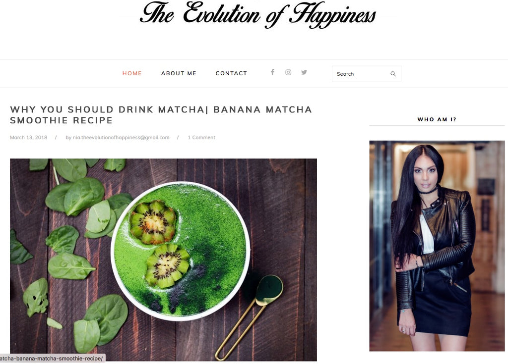 yourlixir superfoods evolution of happiness matcha smoothie bowl recipe