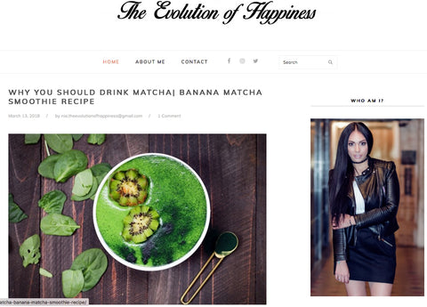 Yourlixir Superfoods The Evolution of Happiness Matcha Blog